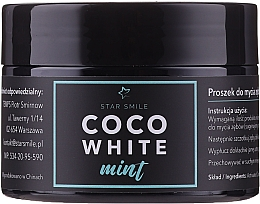Perfumería y cosmética Pasta dental con carbón activo y aceite de menta - Star Smile CoCo White Mint