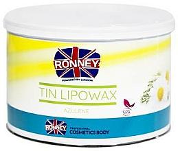 Perfumería y cosmética Cera depilatoria profesional, aroma a camomila - Ronney Wax Tin Azulene