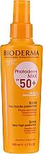 Perfumería y cosmética Spray protector solar para rostro y cuerpo, resistente al agua SPF 50+ - Bioderma Photoderm Photoderm Max Spray SPF 50+