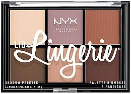 Perfumería y cosmética Paleta de sombras de ojos - NYX Professional Makeup Lingerie Shadow Palette