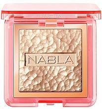 Perfumería y cosmética Iluminador compacto en polvo vegano con pigmentos puros y perlas - Nabla Skin Glazing Highlighter