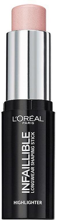Iluminador en stick de cobertura media a completa y larga duración - L'Oreal Paris Infaillible Stick — imagen N1