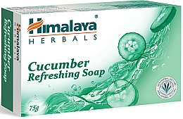 Perfumería y cosmética Jabón refrescante con pepino - Himalaya Herbals Refreshing Cucumber