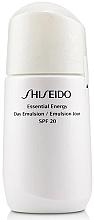Perfumería y cosmética Emulsión facial hidratante con ácido hialurónico y extracto de perlas - Shiseido Essential Energy Day Emulsion SPF 20
