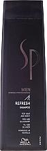 Perfumería y cosmética Champú refrescante para cuerpo y cabello - Wella Wella SP Men Refresh Shampoo