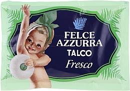 Perfumería y cosmética Polvo de talco corporal natural perfumado fresco - Felce Azzurra Talc for the body Refill