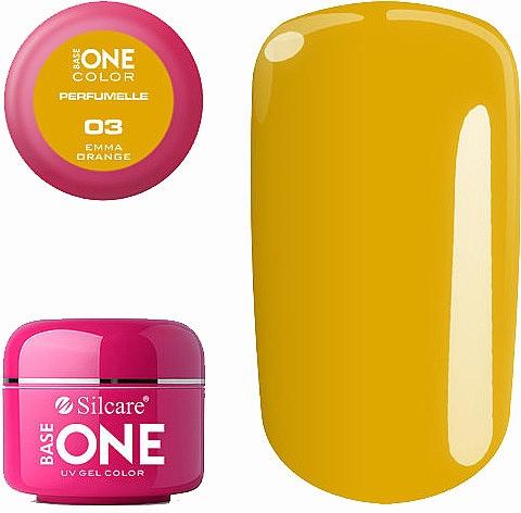 Esmalte en gel para uñas, UV - Silcare Base One Perfumelle UV Gel Color
