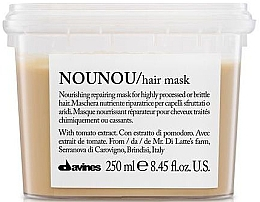 Mascarilla capilar nutritiva con extracto de tomate - Davines Nounou Nourishing Reparing Mask — imagen N1