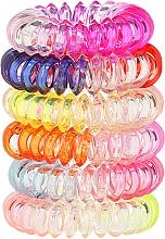 Perfumería y cosmética Coleteros espiral Wire 6 uds. 22562 - Top Choice