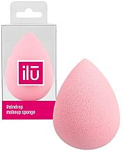 Perfumería y cosmética Esponja de maquillaje, rosa - Ilu Sponge Raindrop Pink