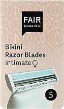 Perfumería y cosmética Recambio de cuchillas para depilación íntima, 5uds. - Fair Squared Bikini Razor Blades