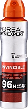 Perfumería y cosmética Desodorante spray - L'Oreal Paris Men Expert Invincible 96 Hours Deodorant Spray