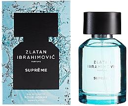 Perfumería y cosmética Zlatan Ibrahimovic Supreme Pour Homme - Eau de toilette