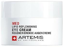 Perfumería y cosmética Crema regeneradora para contorno de ojos con aceite de jojoba - Artemis of Switzerland Med Lipid Replenishing Eye Cream