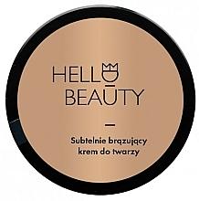 Perfumería y cosmética Crema autobronceadora de noche para rostro con jugo de aloe vera - Lullalove Face Cream With Light Bronzing Effect