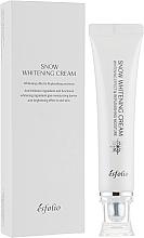 Perfumería y cosmética Crema facial blanqueadora antipolución con ácido hialurónico y extracto de perla - Esfolio Snow Whitening Cream