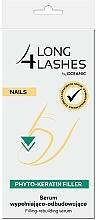 Perfumería y cosmética Sérum reconstructor para uñas con extracto de algas y vitamina C - Long4Lashes Nails Phyto Keratin