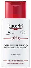 Perfumería y cosmética Detergente fluido corporal con ácido citrico - Eucerin Ph5 Fluido Detergente