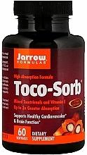 Perfumería y cosmética Complemento alimenticio en cápsulas de complejo de tocotrienol-vitamina E - Jarrow Formulas Toco-Sorb