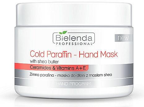 Mascarilla de manos de parafina fría con extracto de karité - Bielenda Professional Cold Paraffin Hand Mask With Shea Butter (400 g)