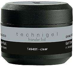 Perfumería y cosmética Gel transparente para transferencia de uñas - Peggy Sage Technigel Transfer Foil Gel