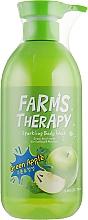 Perfumería y cosmética Gel de ducha con aroma a manzana verde - Farms Therapy Sparkling Body Wash Green Apple