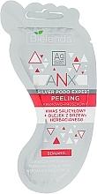 Perfumería y cosmética Exfoliante de pies en polvo cremoso con aceite de árbol de té - Bielenda ANX Podo Detox Foot Scrub Cream