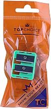 Perfumería y cosmética Sacapuntas doble, 2199, verde - Top Choice