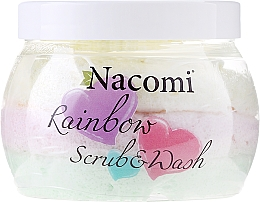 Perfumería y cosmética Exfoliante corporal con aroma a sandía - Nacomi Rainbow Scrub & Wash