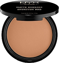 Perfumería y cosmética Polvo bronceador compacto, acabado mate - NYX Professional Makeup Matte Bronzer