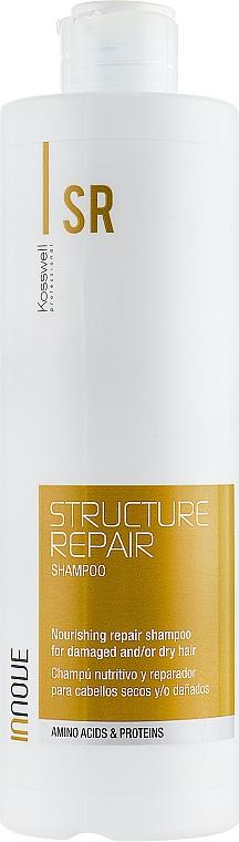 Champú revitalizante con aminoácidos y proteínas - Kosswell Professional Innove Structure Repair Shampoo