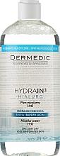 Perfumería y cosmética Agua micelar desmaquillante con glicerina y ácido hialurónico - Dermedic Hydrain3 Hialuro Micellar Water