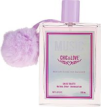 Perfumería y cosmética Chic&Love Music - Eau de toilette