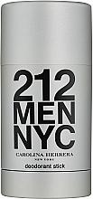 Perfumería y cosmética Carolina Herrera 212 For Man NYC - Desodorante stick
