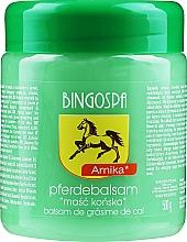 Perfumería y cosmética Bálsamo de caballo con extractos de árnica, ortiga y ginkgo biloba - BingoSpa Horse Ointment With Arnica