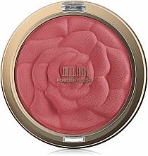 Perfumería y cosmética Colorete en polvo compacto, acabado mate - Milani Rose Powder Blush