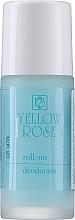 Perfumería y cosmética Desodorante roll on antitranspirante para hombre - Yellow Rose Deodorant Blue Roll-On