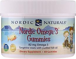 Perfumería y cosmética Complemento alimenticio en golosinas nordic Omega-3, 82 mg - Nordic Naturals Gummy