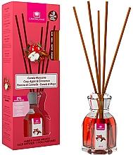 Perfumería y cosmética Ambientador Mikado con aroma a canela y manzana sin alcohol - Cristalinas Reed Diffuser