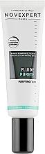 Perfumería y cosmética Fluido facial antiimperfecciones con aceite de coco y arginina - Novexpert Trio-Zinc Purifying Fluid