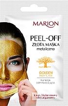 Perfumería y cosmética Mascarilla facial peel-off con aceite de argán y ácido hialurónico - Marion Golden Skin Care Peel-Off Mask