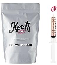 Perfumería y cosmética Kit jeringuilla de gel blanqueador dental con sabor a fresa (recarga) - Keeth Strawberry Refill Pack (3x10ml)