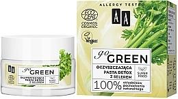 Perfumería y cosmética Pasta detox de limpieza facial con extracto de apio - AA Go Green