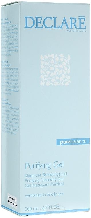 Gel espumoso de limpieza facial - Declare Purifying Cleansing Gel — imagen N1