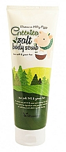 Perfumería y cosmética Exfoliante corporal de sal con extracto de té verde - Elizavecca Body Care Milky Piggy Greentea Salt Body Scrub