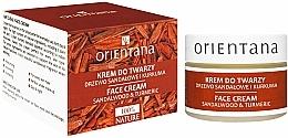Perfumería y cosmética Crema facial con sándalo y cúrcuma - Orientana Face Cream Sandalwood & Turmeric