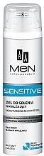 Perfumería y cosmética Gel de afeitar hipoalergénico con extracto de aloe - AA Men Sensitive Moisturizing Shaving Gel