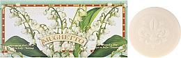 Perfumería y cosmética Set jabón artesanal natural con aroma a lirios del valle, 6uds. - Saponificio Artigianale Fiorentino Lily Of The Valley (jabón/6x50g)
