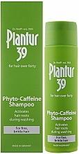 Perfumería y cosmética Champú con cafeína e ingredientes activos - Plantur 39 Coffein Shampoo
