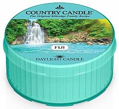 Perfumería y cosmética Vela perfumada con aroma a orquídea de agua & cocos verdes - Country Candle Fiji Daylight